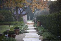 Outdoor pathways
