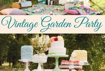 Finley's birthday!!! / A beautiful garden party for our little garden lover