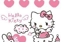 Hello kitty enamorada