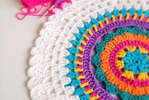 Crochet mandala / Ask bunlar ya ask