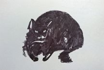 Drawings, Paintings, Sketches by Alena / All my other pics: drawings of cats, bears, many other animals, new mediums studies, quick sketches, etc.
