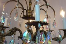 Vintage Chandeliers / Beautiful vintage and antique chandeliers