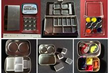 Traveling Artist Gear / Fabulous tools and ideas for the traveling artist