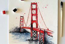 drawings, paintings ideas