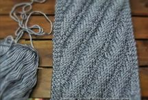 Knitting - stitches