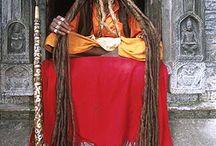 Amazing Sadhu from India.