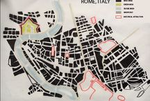 Week 1 05.03.2017 / HI I am Alice fro  Italy! The map is a representation of the city centre in Rome, Italy. I decided to use the Nolli Map technique to represent the most characteristic part of Rome. The red line highline the historical area of the city as the ruins are of the Palatine Hill. The urbanistic traffic sistem in Rome is mainly defined by the River Tevere, that is an important simble in the city.