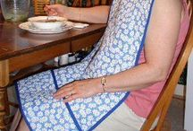 Adult Bibs  ---  Sewing