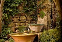 water falls and fountains diy