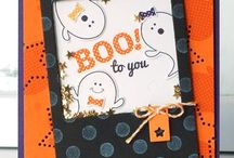 Cards~Halloween / by Amy Grohs Vandiver