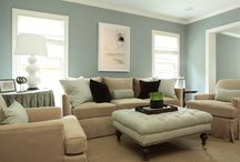 family room inspiration / by April W