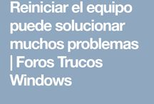 Trucos / Trucos de Windows
