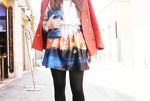 "Fashion&Style: Cute skirts / by ""Outfit Ideas, by Chicisimo"" Fashion iPhone App"