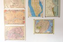 A love of maps / by April H