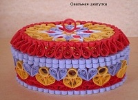 *Quilling box