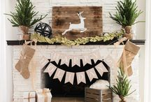 Holiday Mantels / Decorate your mantel for the holidays