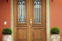 grade para porta de entrada