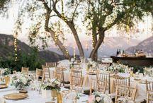 Greek Rustic Wedding Decoration
