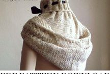 knit and crochet- hats and hoods