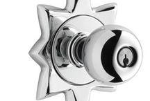 knobs / modern door knobs, midcentury door knobs, vintage door knobs, door knobs. www.modernhousenumbers.com