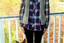 Fall & Winter Outfit Ideas / Great clothing styles and outfits for cool and cold weather