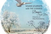 Danu, Ancient Mother of Air / Danu is ancient Mother of Air, wise woman, stone woman, bone woman, Callieach of Winter.  Hers is the North wind that brings clairity to our lives.