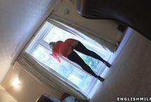 women wearing stockings