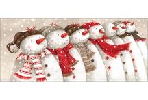 Winter decorations / Snow