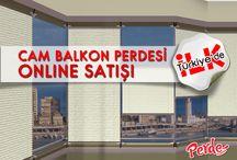 Plise Perdeler / Türkiye'de ilk defa katlanır cam balkonlara özel üretilmiş olan Plise perdelerin online satış mağazası Perdemania'da.