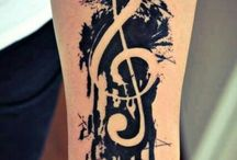 Project theme- music/tattoos / Ideas for my art project.