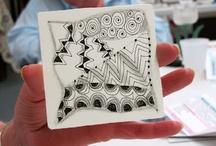 Zentangles / by Jackie Kunkel/Canton Village Quilt Works