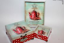 tea box or mdf