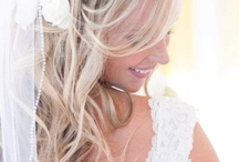 Wedding hair / Bride and maid of honor ideas