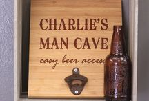 Personalized Wall Mount Bottle Openers / Awesome Wall Mount Bottle Openers!