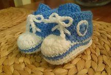 ZAPATOS BEBE / Todo tipo de zapatos y patucos a crochet