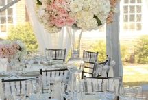 Blush Pink and Ivory Flowers / Blush Pink and Ivory Bridal and Wedding designs by Sisters Floral Design Studio