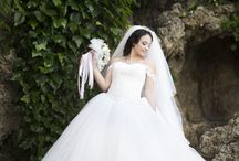 Bride Portrait / Wedding, bride portrait board.