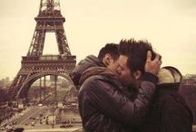Gay couples / Gay, straight and in between. Love is love.