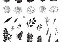Mini Wild Florals Stamp Set / Projects featuring this stamp set