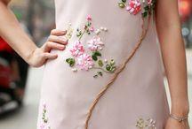 расшитые платья