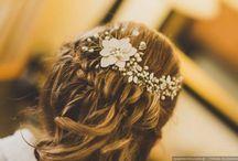 Tocados de novia para casamiento / Tocados con pedrería, estilo princesa, en broche o con peineta. ¡Te damos ideas para todos los estilos!