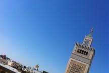 arabic heart and world