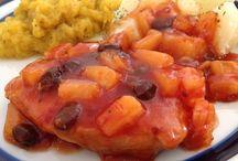 Bahamamama pork chops