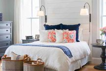 Navy Blue And Gold Bedroom Set
