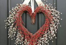 Happy Valentine's Day my dear friends! That your day, be crowned with joys and hopes, along with those you love most!   #decor  #doors