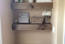 Bathroom DIY  / by Brittany Holy