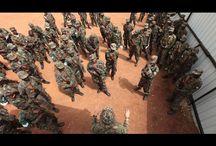 """Joseph Kony , líder del grupo paramilitar terrorista de Uganda , el """" LRA """" , """" Lord Resistance's Army , buscado mundialmente ...."""