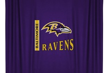 Baltimore Ravens Merchandise, Bedding, Decor & Gifts / Baltimore Ravens Merchandise is an awesome way to decorate your home & office to create your own Ravens fan zone in your bedroom, kid's bedroom, game room, study, kitchen, living room, and even the bathroom. Also magnificent as Baltimore Ravens fan gifts. Ravens Nation - Show off your team spirit today!