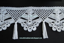 guardas y cortinas crochet