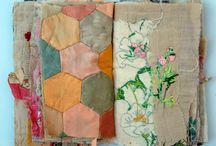 Fabric/vintage linen/ruffles